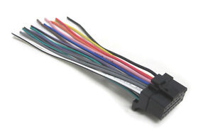 s l300 car stereo wiring harness fits sony mex 1hd, mex 5hd, xav 7w, mdx sony xav-7w wiring harness at aneh.co