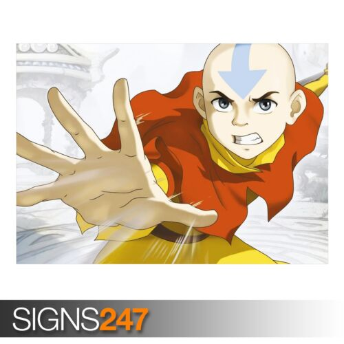 Anime Poster Poster Print Art A0 A1 A2 A3 A4 AVATAR THE LAST AIRBENDER 3174