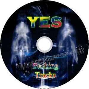 YES-GUITAR-BACKING-TRACKS-CD-BEST-OF-GREATEST-HITS-MUSIC-PLAY-ALONG-MP3-ROCK
