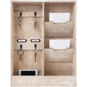 wandorganizer memoboard schl sselbrett h48x36x7cm holz. Black Bedroom Furniture Sets. Home Design Ideas