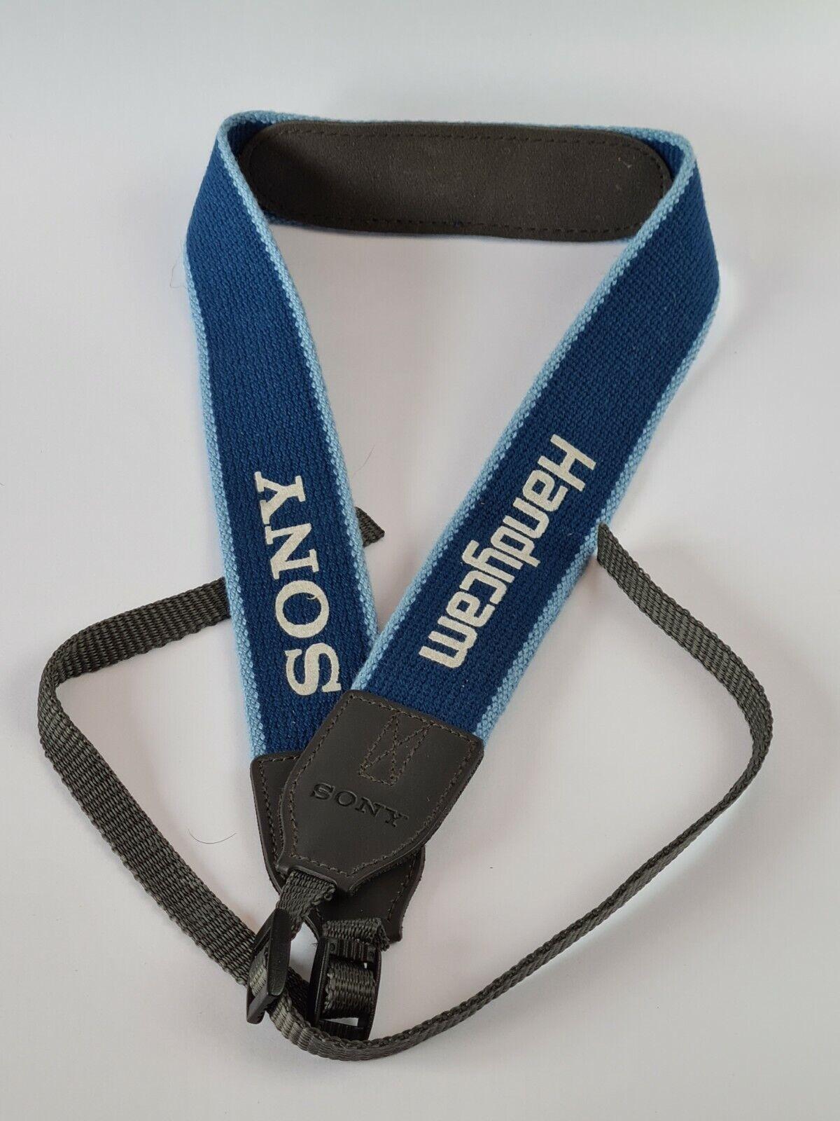 Sony Handycam Camcorder Camera Neck Shoulder Strap In Very Good Condition