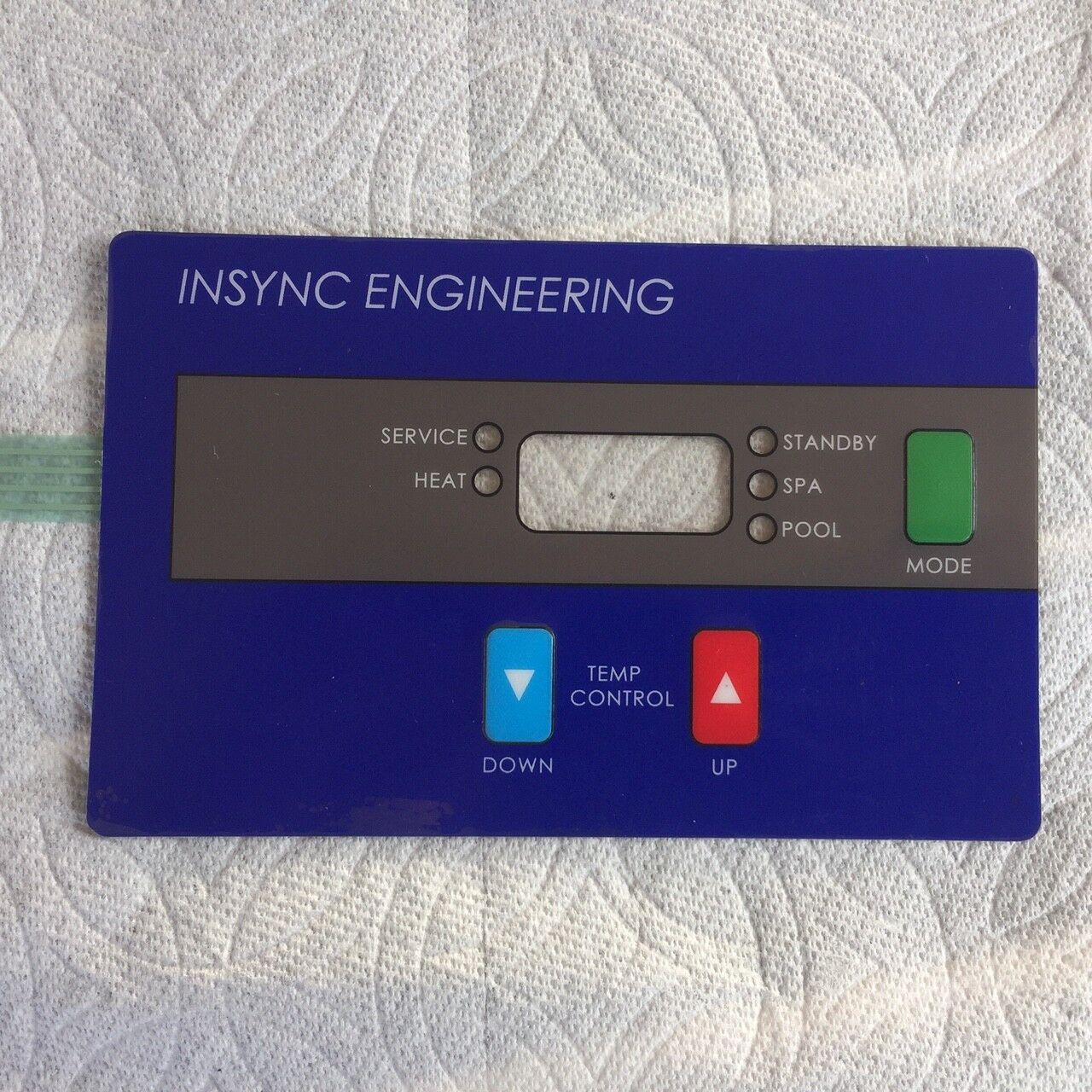 Hayward Keypad NEW compatible FDXLHBP1400 Blau FDXLBKP1932 heaters by INSYNC ENG
