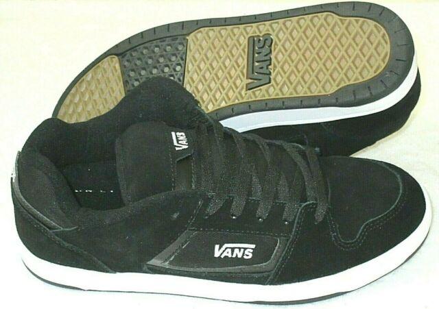 Size 10 - VANS Docket Black White