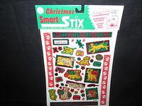 Vintage Disney The Lion King Christmas Stickers Removable Reusable Smart Stix