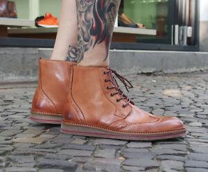Shoot-Schuhe-SH216811D-cognac-Herrenschuhe-Echtleder-Schnuerer-Schnuerschuhe-Boots
