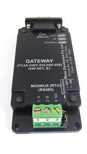 Details about 1 Gateway FC2A-GWY-025-009-V00 H/W REV  B1 IDEC RS232 PLC -  Modbus RTU RS485