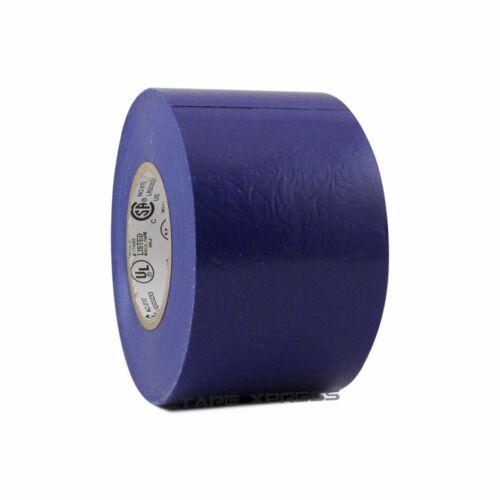 "10 Rolls Blue Vinyl PVC Electrical Tape 2/"" x 66/' Flame Retardant Free Shipping"