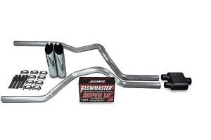 "04-08 Dodge Ram Truck 3/"" Single Exhaust Kit Flowmaster Super 44 Muffler"