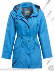NEW Womens SHOWER Jacket Festival RAINCOAT Size 10 12 14 16 18 20 22 24 Blue