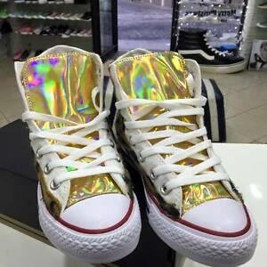converse all star oro alte