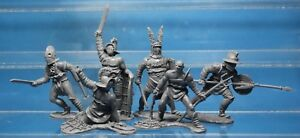 NEW-Collectible-Plastic-Toy-Soldiers-Publius-Gladiators-set-1-32-54-mm