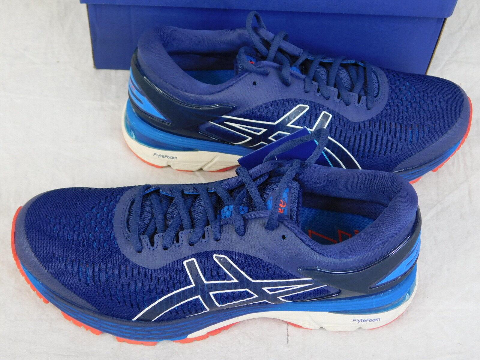 Asics Men's Running scarpe da ginnastica Gel-Kayano 25 Indigo blu Cream 1011A019-400 NOB