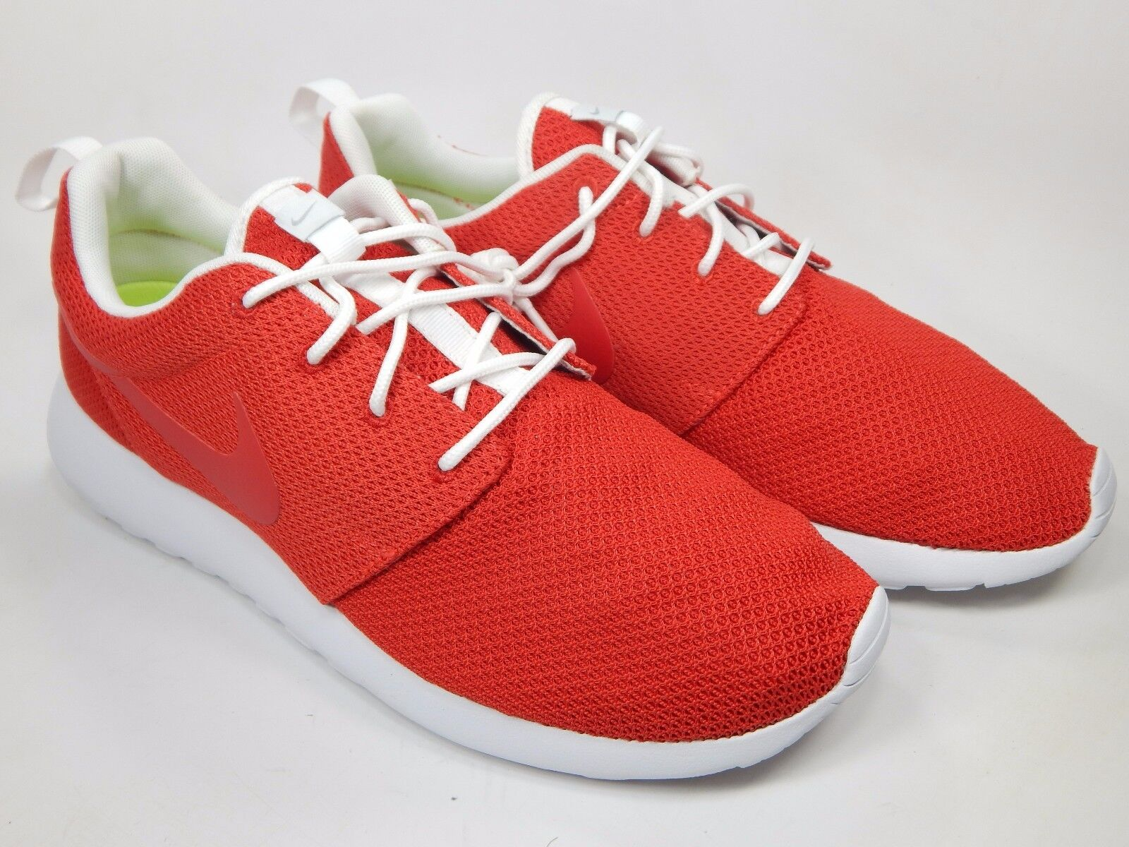 Nike Roshe Run ID One Size 11 M Men's Running shoes Bright Red 616834-993