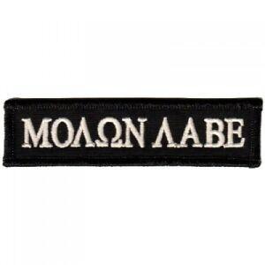 Biker-Militia-3-Percent-Molon-Labe-Come-And-Take-Them-Patch-4x1