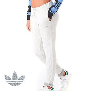 aab0f8b077e9 adidas Originals Women s Sweat Track Pants Roll Up Cuffs Cotton ...