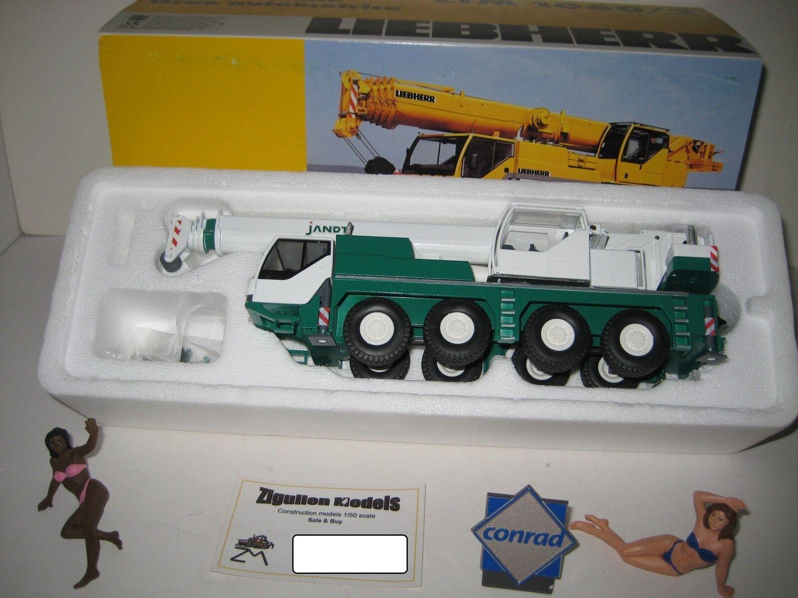 Liebherr LTM LTM LTM 1060-2 Autokran Jandt #2094.10 CONRAD 1:50 NEUF dans sa boîte | Emballage élégant Et Robuste  34b807