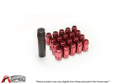 20 12X1.5 RED LUG NUTS FITS 4 LUG Dodge Plymouth Mazda