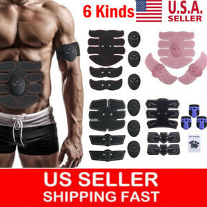 Electric-ABS-Simulator-EMS-Training-Body-Abdominal-Muscle-Exerciser-Fat-Burner