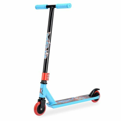 Xootz 360 Spin Inline Stunt Scooter-Slasher bleu