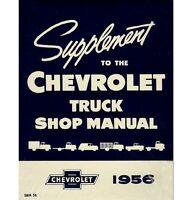 1956 Chevy Truck Shop Manual Supplement