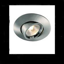 Saxby LightingDL322SS Rotate LV Adj 1x50W MR16 Satin Silver Downlight (119)