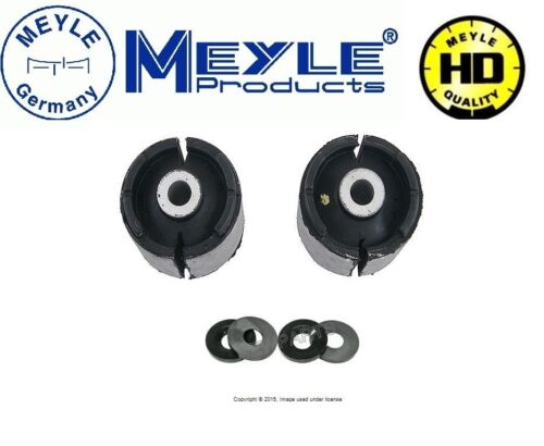 For BMW E46 3-Series Rear Trailing Arm Bushing Limiter Kit By Meyle HD NEW