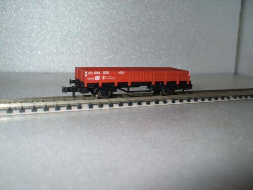 8200 FLEISCHMANN plat voiture de la DB avec pages Borden dans NEUF dans sa boîte, Brun