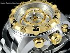 Invicta Reserve 52mm Excursion TOURING EDITION Swiss Chronograph Silver SS Watch
