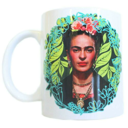 FRIDA KAHLO Large 11oz Mug cup feminist Mexican artist LGBT positive female Gift