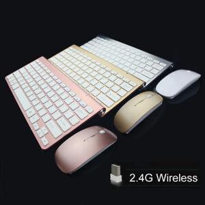 2-4GHZ-Wireless-Keyboard-Mini-Mouse-Combo-Slim-Kit-For-PC-Computer-iMac-Laptop