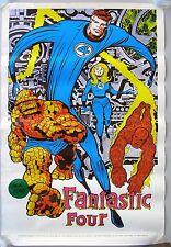 1970 FANTASTIC FOUR POSTER by Jack Kirby.   MARVELMANIA INTERNATIONAL