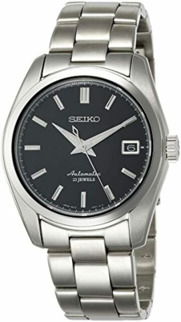 Seiko Men's Japanese-Automatic Watch with Stainless-Steel Strap, Silver, 20