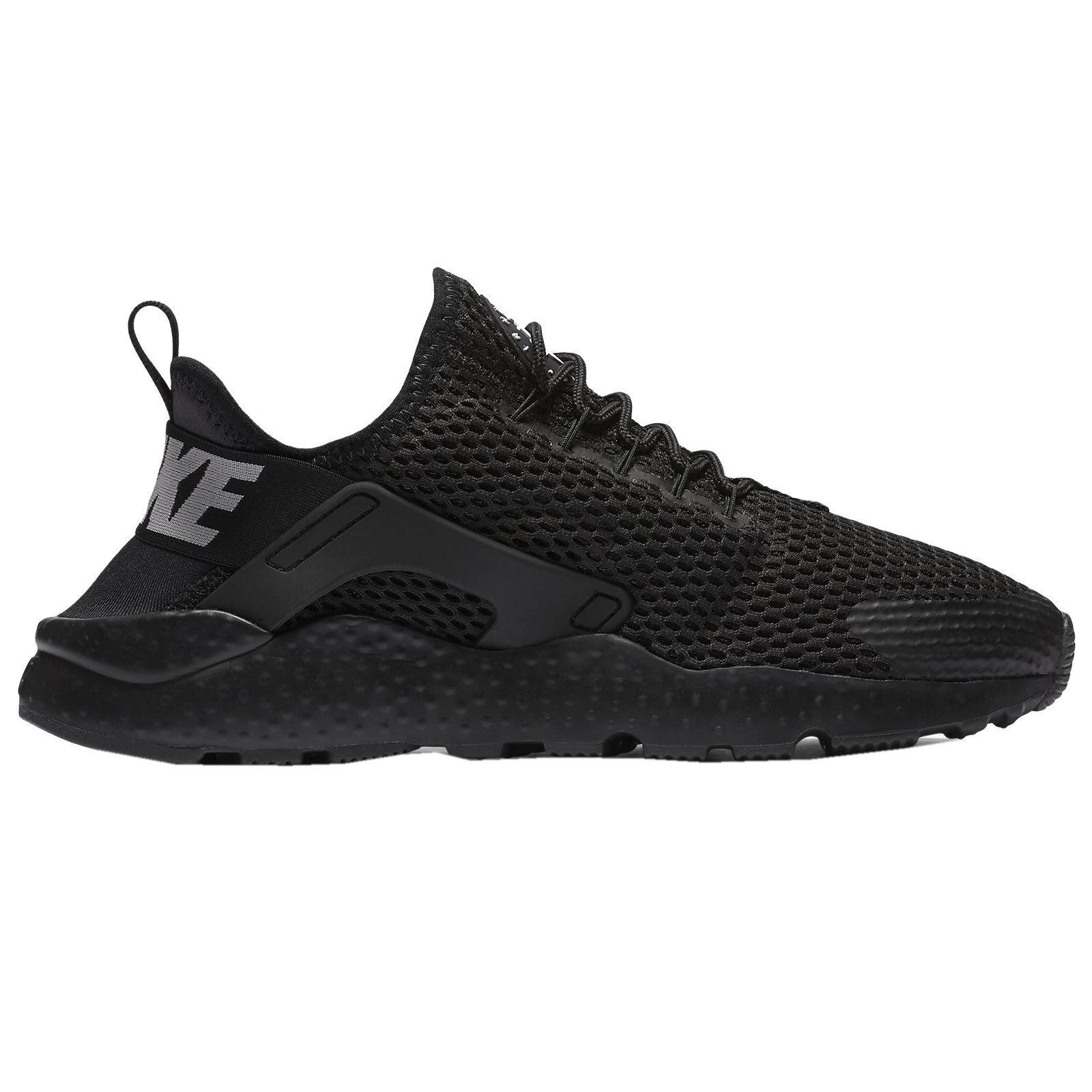 Nike Air huarache Run mujer ultra respirar Negro mujer Run Trainers a402dc