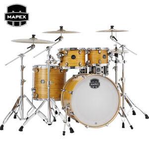 New Mapex Armory Drum Set Rock 5 Piece Shell Pack 22 Desert Dune