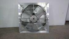 Delhi Ax24 1v 13 Hp 1100 Rpm 115230v 24 In Blade Dia Shutter Mount Exhaust Fan