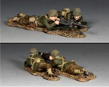 KING /& COUNTRY U.S.M.C USMC045 U.S MARINE FIRING M1917 BROWNING MACHINE GUN MB
