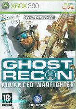 Tom Clancy's Ghost Recon Advanced Warfighter Microsoft Xbox 360 16+ FPS Game