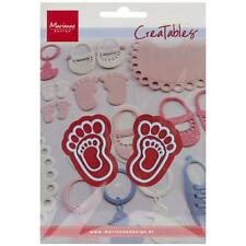"Marianne Design Creatables Dies ~ Feet LR0305, 1"" x 1 1/2"" and 4/8"" x 7/8"" ~ NIP"