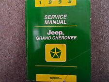 1998 JEEP GRAND CHEROKEE Service Shop Repair Manual FACTORY DEALERSHIP OEM BOOK