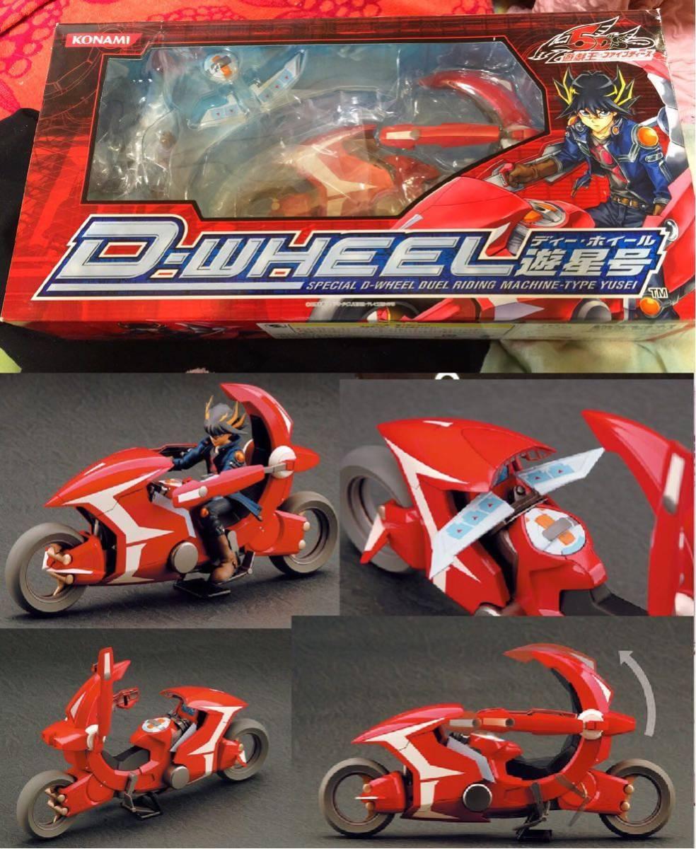 Yu-Gi-Oh D wheel planetary No. figma figure Limited JAPAN