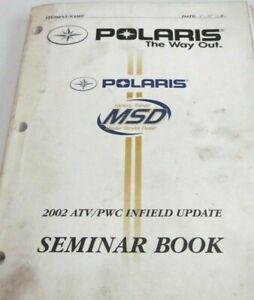 POLARIS-USED-2002-ATV-PWC-INFIELD-UPDATE-SEMINAR-MANUAL-5-8-034-THICK