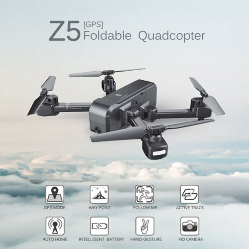 SJRC Z5 GPS HD 1080P Wide-Angle Camera Wifi FPV RC Drone Quadcopter Backpack
