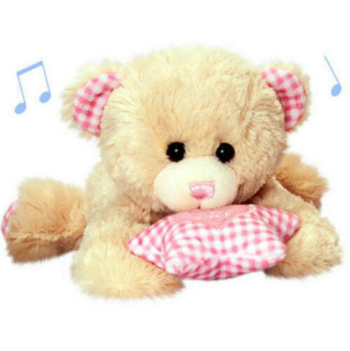 Keel Collection Musical Cuddles Dangle Plush Bears For Baby Boy Girl From Birth