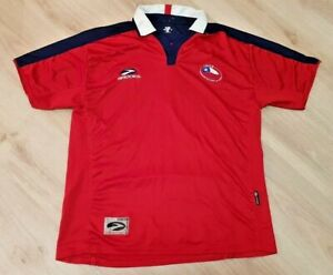 Details about CHILE NATIONAL TEAM 20032006 HOME FOOTBALL SHIRT JERSEY BROOKS SIZE L ADULT