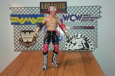 Mattel Elite WWE WCW TV Custom Title