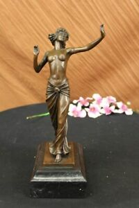Elegant-Bronze-Art-Sculpture-Nude-Venus-Goddess-Statue-Figurine-Sculpture-Decor