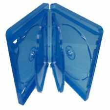 10 Blu Ray 5 VIE caso 25mm spina dorsale per azienda 5 DISCHI DI RICAMBIO NUOVI AMARAY COVER