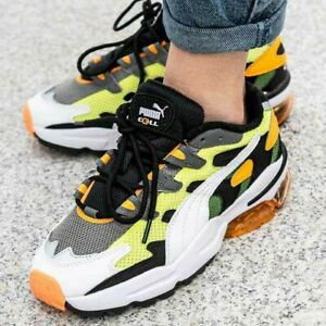 Details about Puma Cell Alien OG Yellow Alert Sneakers 369801 07 size 8.0