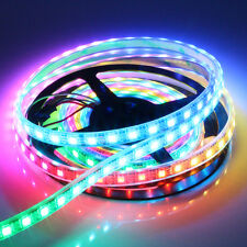 5meters WS2812b  DC5V Pixel RGB color led strip,  150LED 150IC  Waterproof
