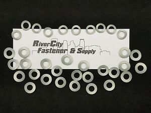 """(10) 3/8"""" Type A   &   (25) 3/8"""" Type B Steel Wave / Curved Washers"""